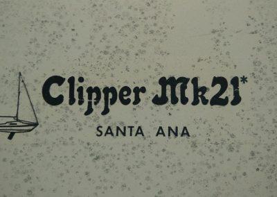 Clipper Marine 21 Logo